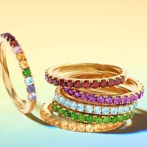 🌈 Ross-Simons Gemstone Stackable Ring 💍 🌈